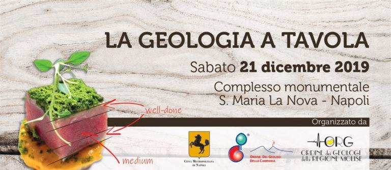 La Geologia a tavola