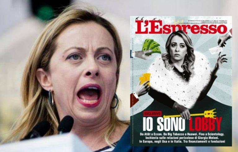 L'inchiesta de 'L'Espresso' e il silenzio di Giorgia Meloni