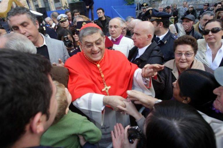 'Disarmiamo Napoli', lo scippo del cardinale – in proroga – Crescenzio Sepe