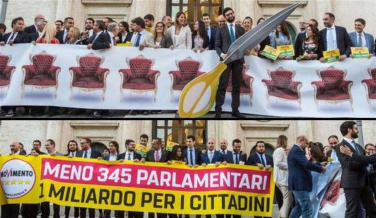 Stop al taglio dei parlamentari, decidono gli italiani con il referendum