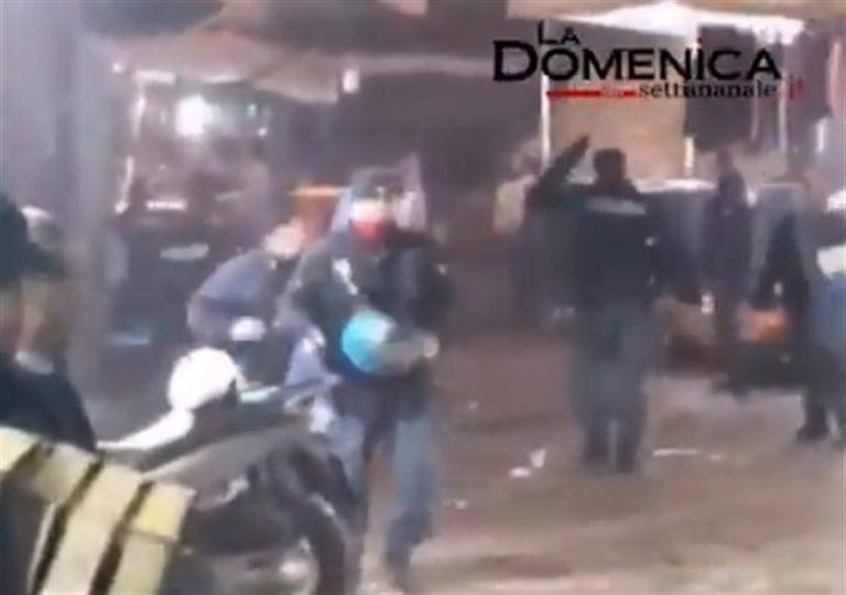VIDEO. Aggressione alla polizia al Borgo Sant'Antonio : tutti i identificati i componenti della baby gang