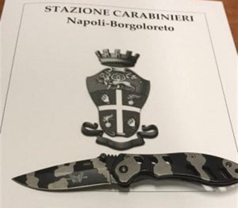 Nascondeva coltello negli slip, nei guai nipote di un esponente di spicco del clan Mazzarella