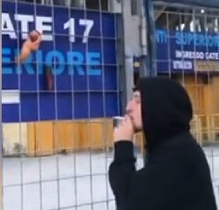 Idetificato e denunciato l'ebete che a suon di petardi ha fatto saltare la segnaletica dello stadio San Paolo