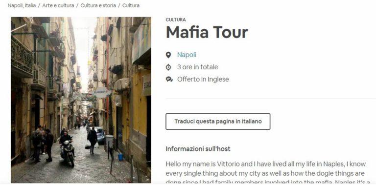 È 'mafia tour' al rione Forcella: alla bellezza di chi resiste, si preferisce raccontare ai turisti la saga dei camorristi