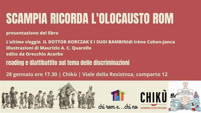 Scampia, ricorda l'olocausto Rom