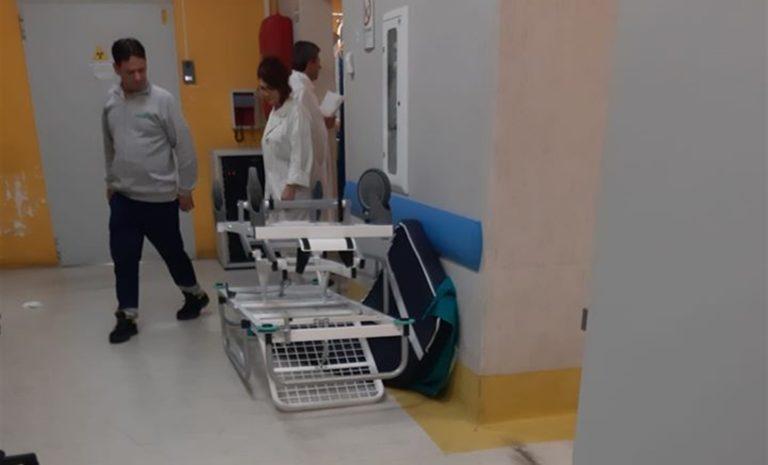 Nuovo raid in ospedale: sfasciato il pronto soccorso del Vecchio Pellegrini