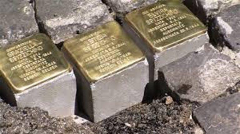 Pietre d'inciampo per ricordare i martiri del nazi-fascismo della comunità ebraica di Napoli. L'inziativa voluta dai giornalisti Alfredo Cafasso Vitale e Nico Pirozzi