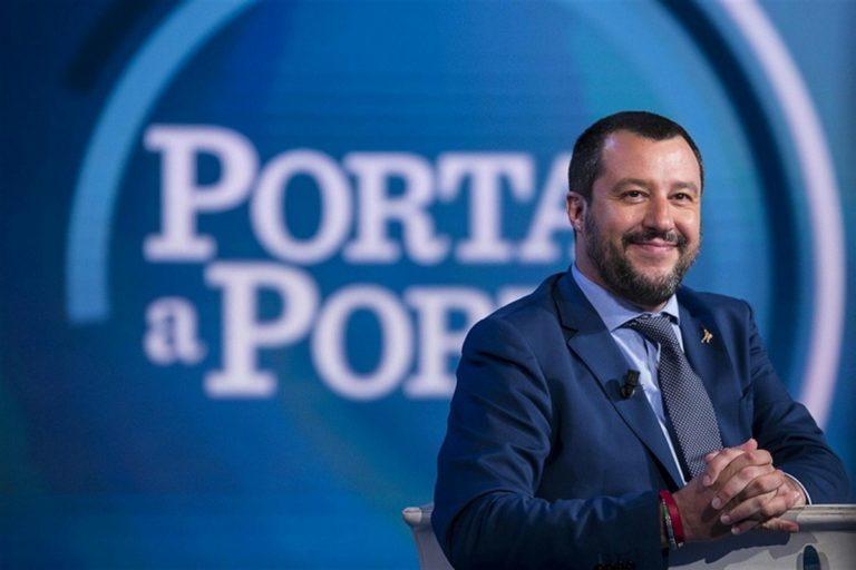 Nell'intervallo Juve-Roma, ecco lo spot pro Salvini
