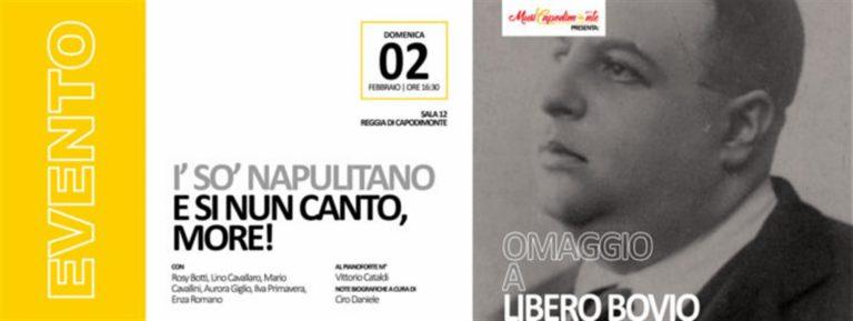 Al Real Museo di Capodimonte l'omaggio al grande Libero Bovio