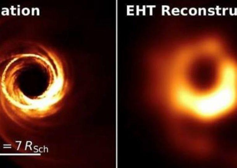 Buco nero scoperto per caso da studente osservando asteroide