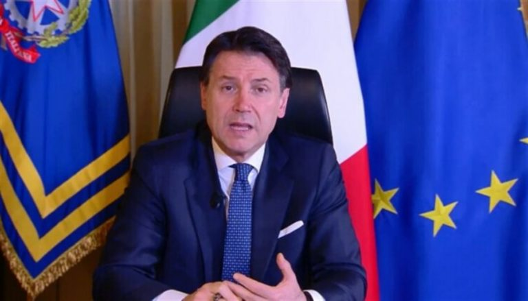 """Il premier Conte: """"Subito soldi ai comuni e alle fasce deboli"""""""