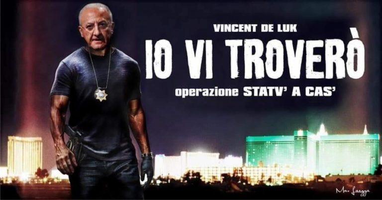 Vincenzo De Luca star del web : sfottò, gag e fotomontaggi. È lui l'antivirus alla noia