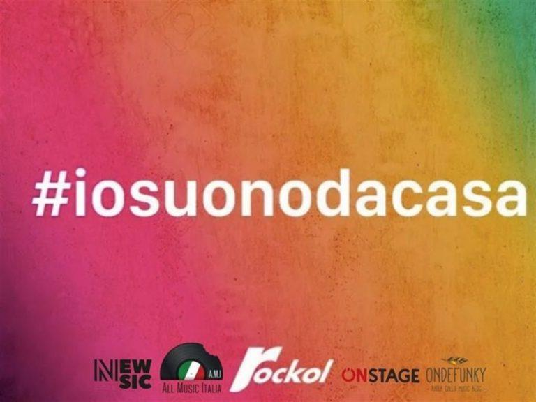 #iosuonodacasa, il mondo della musica unito contro il Coronavirus