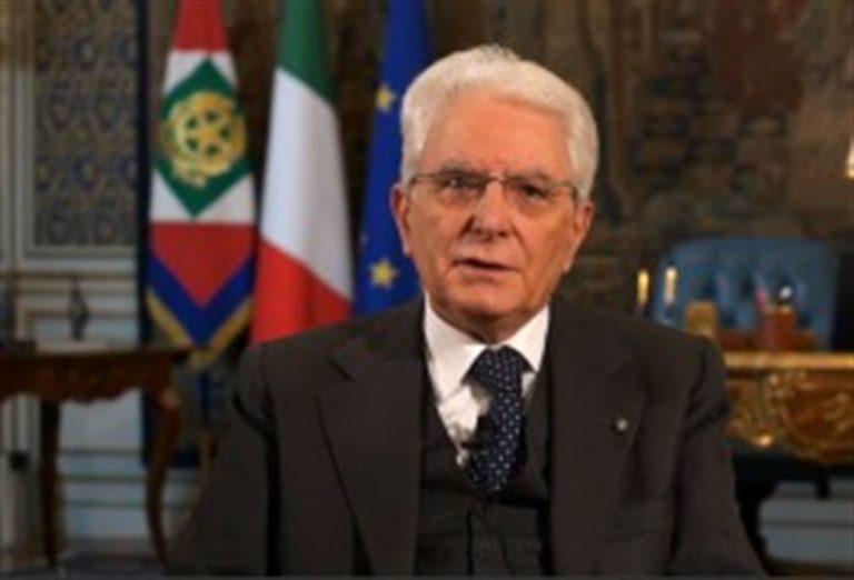 """Il messaggio del Presidente Mattarella: """"Pagina triste della nosra storia"""""""