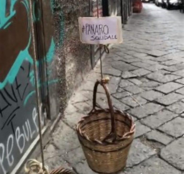 Napoli, ecco il 'panaro solidale' per aiutare chi non riesce a fare la spesa