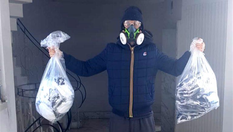 Coronavirus. Donate al carcere di Poggioreale 800 mascherine con Ciambriello e il rapper Tueff