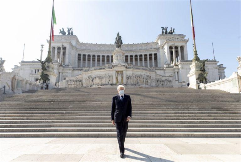 """Il Presidente Mattarella: """"I valori della Resistenza sono la nostra riserva etica"""""""