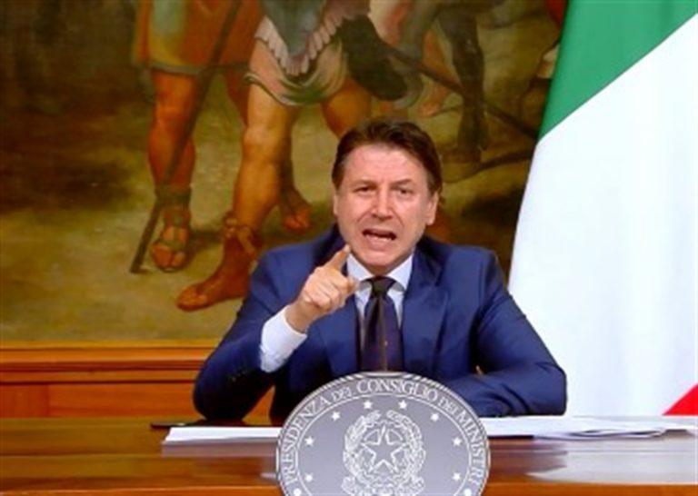 Il premier Conte prende a sberle la Meloni e Salvini