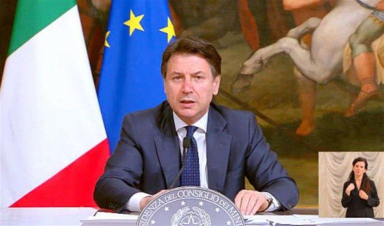 """Il premier Conte: """"Salvini e Meloni hanno prodotto vere e proprie fake news"""""""