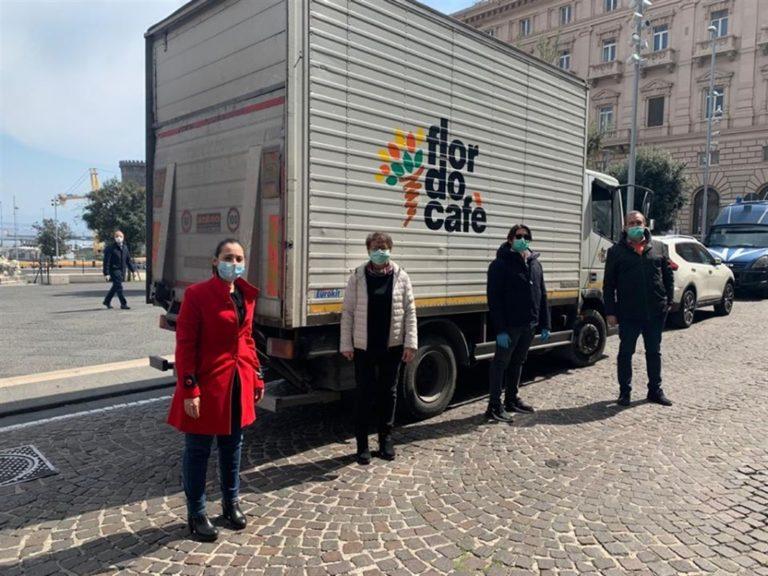 Il Comune di Napoli dona 2000 mascherine al Cotugno
