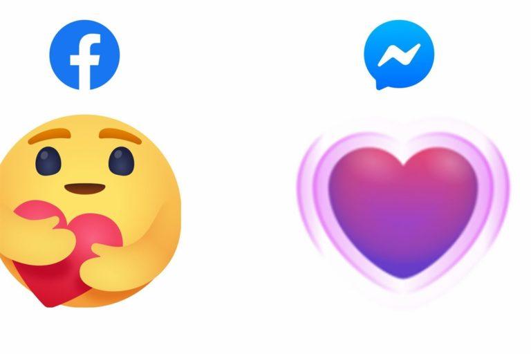 Il social Facebook introduce l'emoji dell'abbraccio