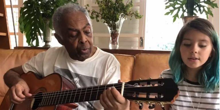 Gilberto Gil dedica la canzone 'Volare' all'Italia