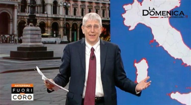 VIDEO. Caso Feltri, il giornalista Giordano si scusa in diretta forse per scansare l'Agcom