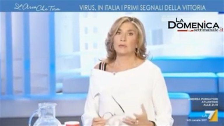 """Myrta Merlino: """"A Napoli l'ospedale Cotugno, i suoi medici sono una eccellenza mondiale. Mi dispiace, non volevo offendere nessuno, mi scuso con la mia città"""""""