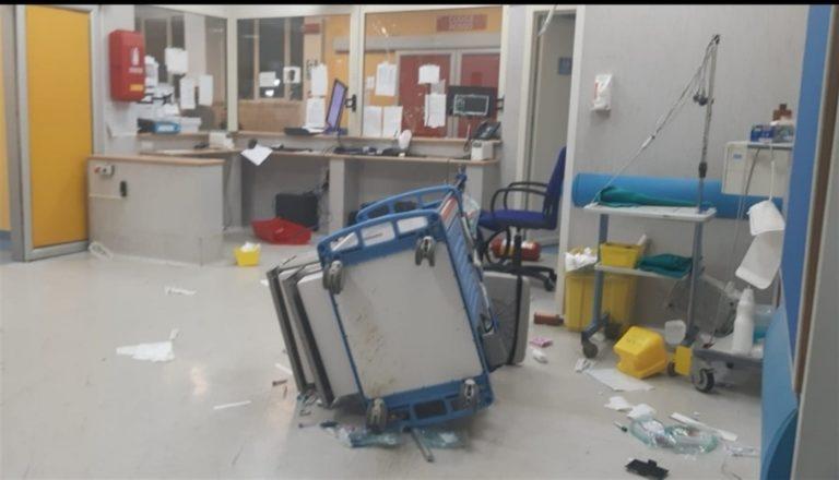 Ospedale Vecchio Pellegrini, scatta il blitz contro gli autori della devastazione