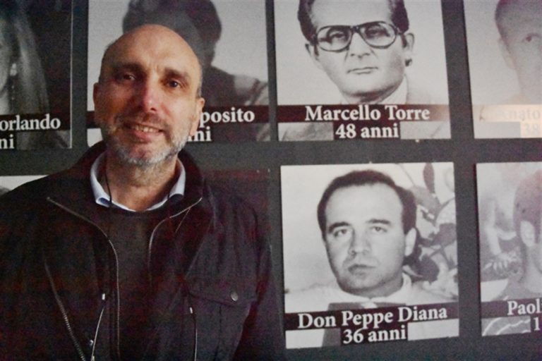 Commozione per l'ultimo addio a Valerio Taglione