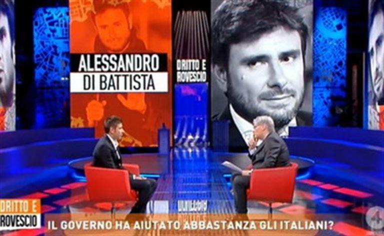 """Di Battista lancia segnali di pace al garante Grillo: """"Riconoscente anche quando mi critica """""""
