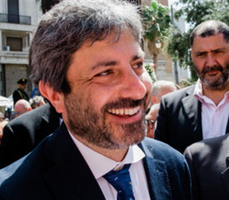 """Elezione, Fico: """"Napoli ha bisogno di un progetto all'avanguardia"""""""
