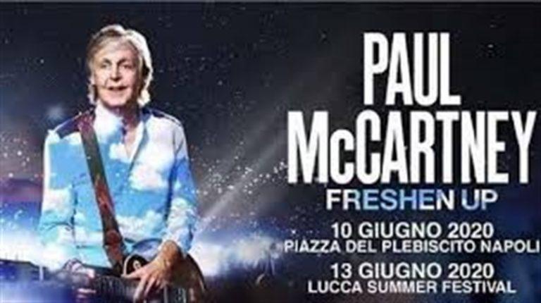"""Paul McCartney attacca l'Italia: """"Restituite i soldi dei biglietti"""""""