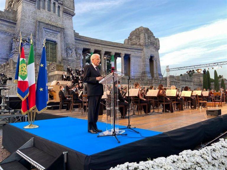 """Il presidente Mattarella: """"Ricordare significa riflettere con rigore su ciò che non ha funzionato"""""""