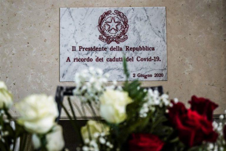 Il presidente Mattarella nel giorno della Festa della Repubblica rende omaggio alle vittime di Codogno