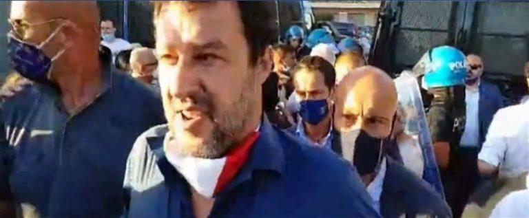 Salvini torna a Mondragone