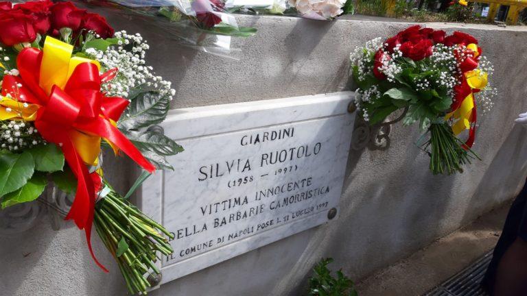 La città di Napoli ricorda Silvia Ruotolo, vittima innocente di camorra