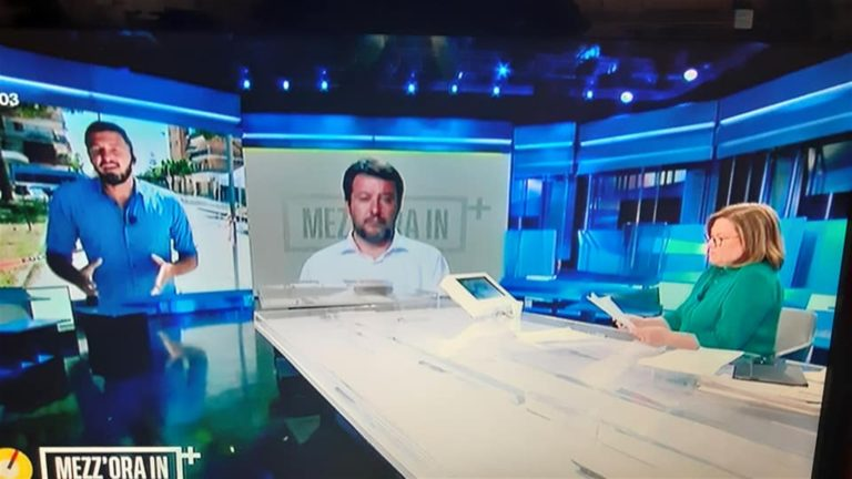 Lucia Annunziata, leghista per una domenica: prepara a 'Mezza in più' la passerella mediatica di Salvini a Mondragone