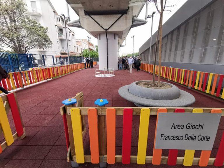 Nasce l'area giochi in ricordo 'Francesco Della Corte', il vigilante ucciso due anni fa