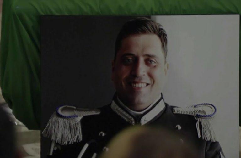 Un'ambulanza per ricordare il Vice Brigadiere Mario Cerciello Rega