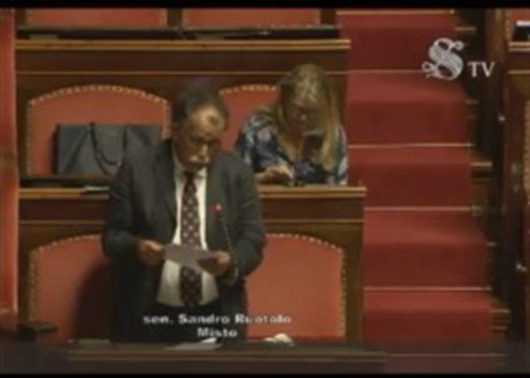 """Caso Paciolla, senatore Ruotolo (Gruppo Misto) al Question Time interroga il ministro Di Maio: """"Pretendere dalle Nazioni Unite la massima collaborazione"""""""