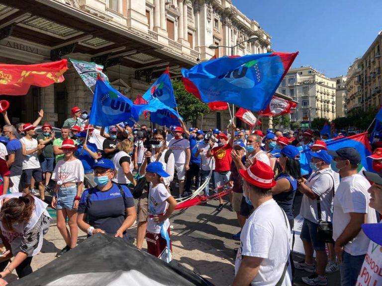 25 aprile, Whirlpool con i sindaci del sud a Napoli