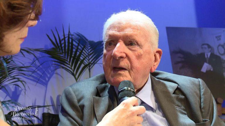 E'morto il maestro di giornalismo Sergio Zavoli: aveva 96 anni