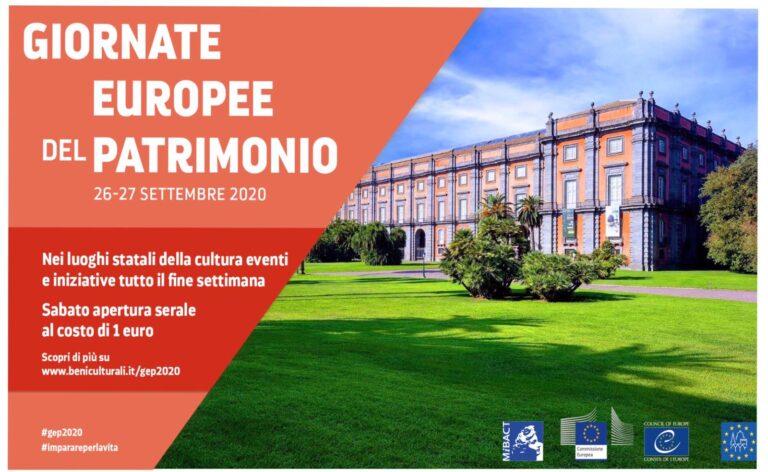 Il Museo e Real Bosco di Capodimonte aderisce alle Giornate Europee del Patrimonio. Tanti appuntamenti e aperture serali fino alle 22 e 30