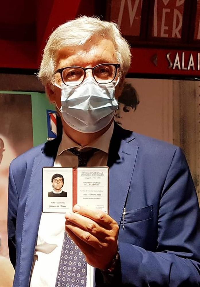Giancarlo Siani oggi è un giornalista professionista