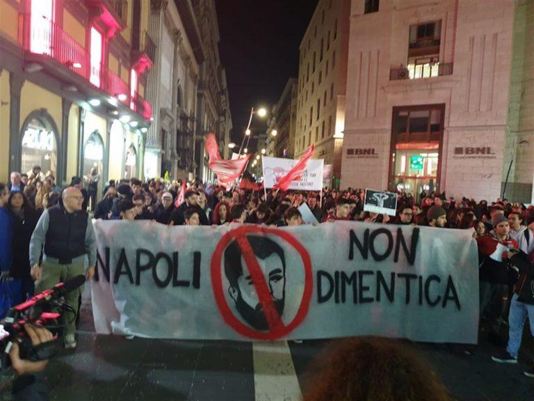 Napoli si prepara al comizio di Matteo Salvini con una manifestazione antirazzista