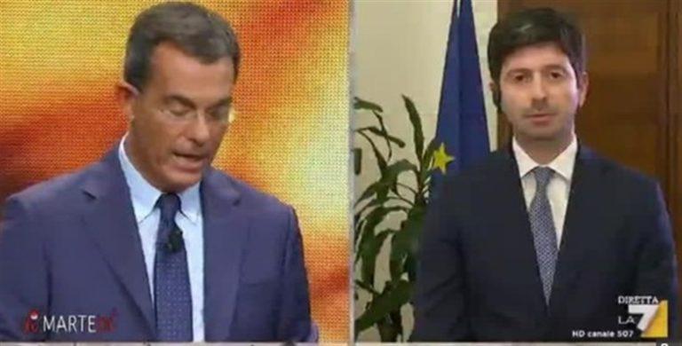 """Il ministro Speranza: """"Aumenteremo i tamponi quotidiani a oltre 100mila"""""""