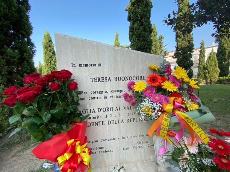 A 10 anni dall'uccisione, il ricordo di Teresa Buonocore