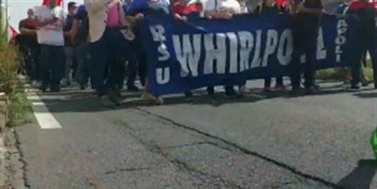 """Whirlpool, tempo scaduto. I sindacati: """"Azienda rispetti gli accordi sottoscritti"""""""