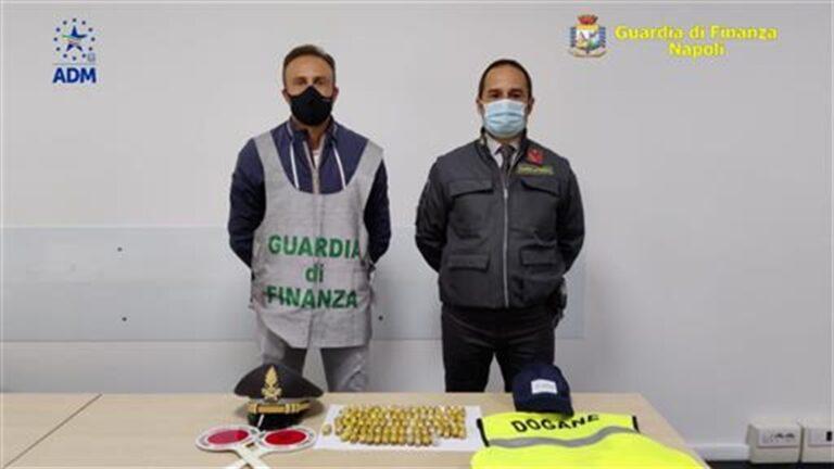 Ovuli di eroina nascosti nello stomaco: arrestato straniero